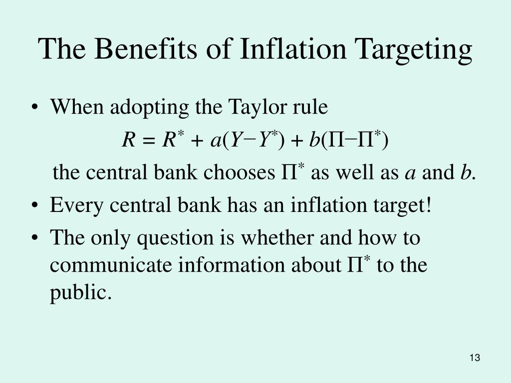 The Benefits of Inflation Targeting