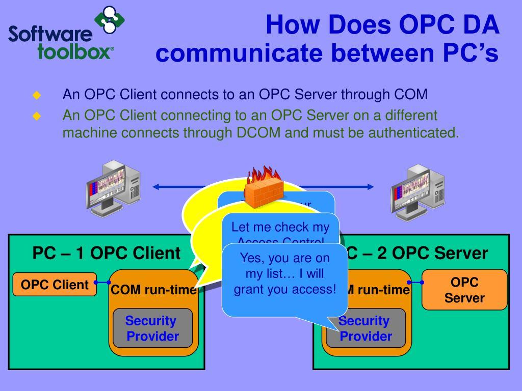 PC – 1 OPC Client