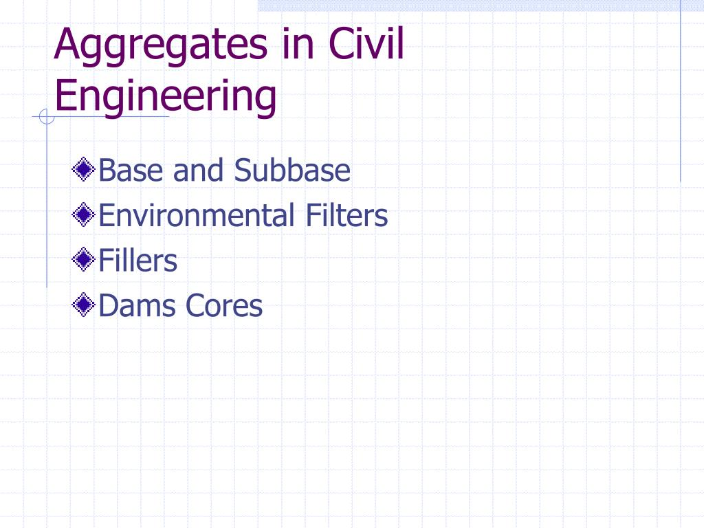 aggregates in civil engineering l.