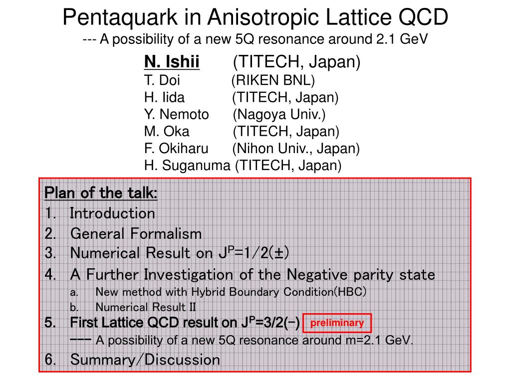 pentaquark in anisotropic lattice qcd a possibility of a new 5q resonance around 2 1 gev l.