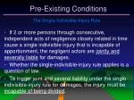pre existing conditions31