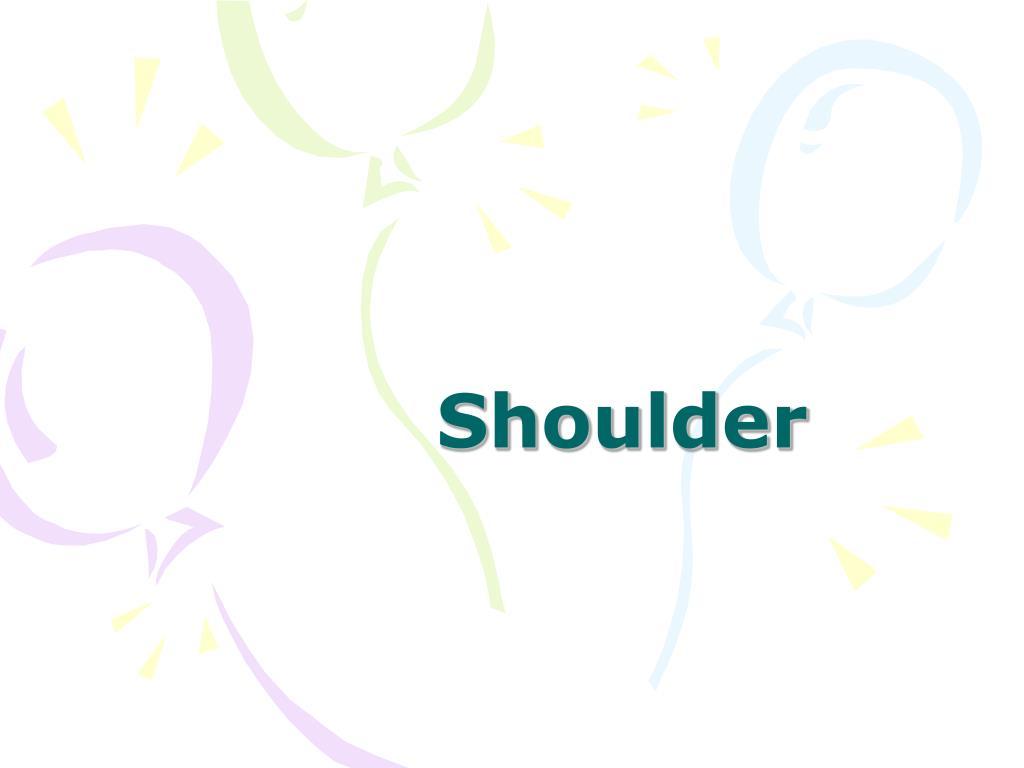shoulder l.