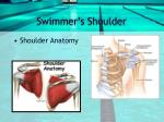 swimmer s shoulder