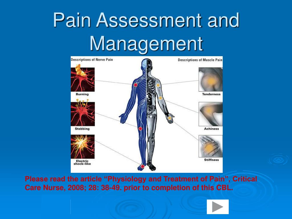 pain assessment and management l.