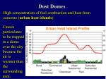 dust domes