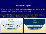 inversion layers
