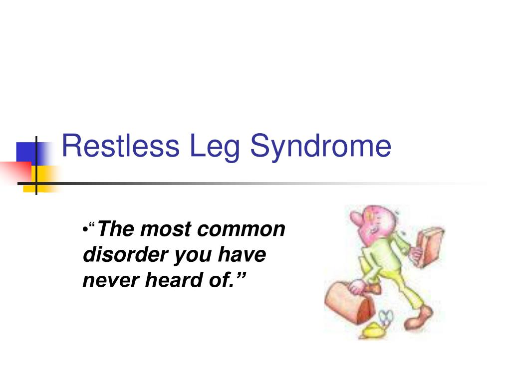 restless leg syndrome l.