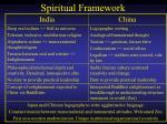 spiritual framework