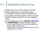global multi national trials