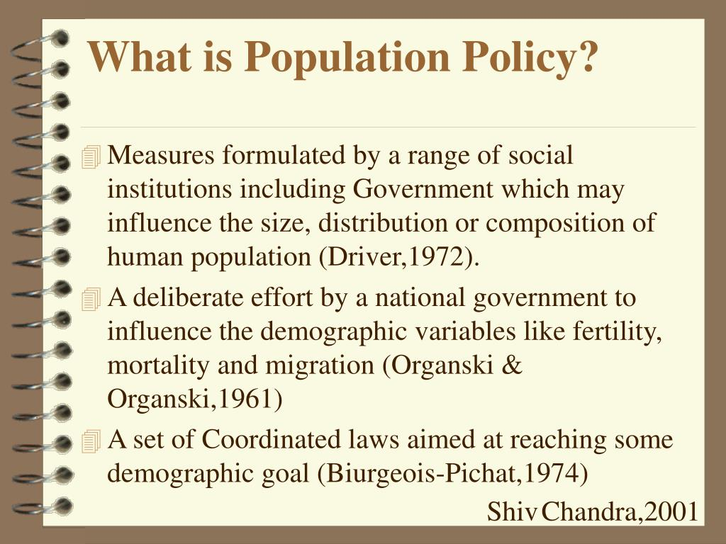 What is Population Policy?