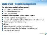 state of art people management