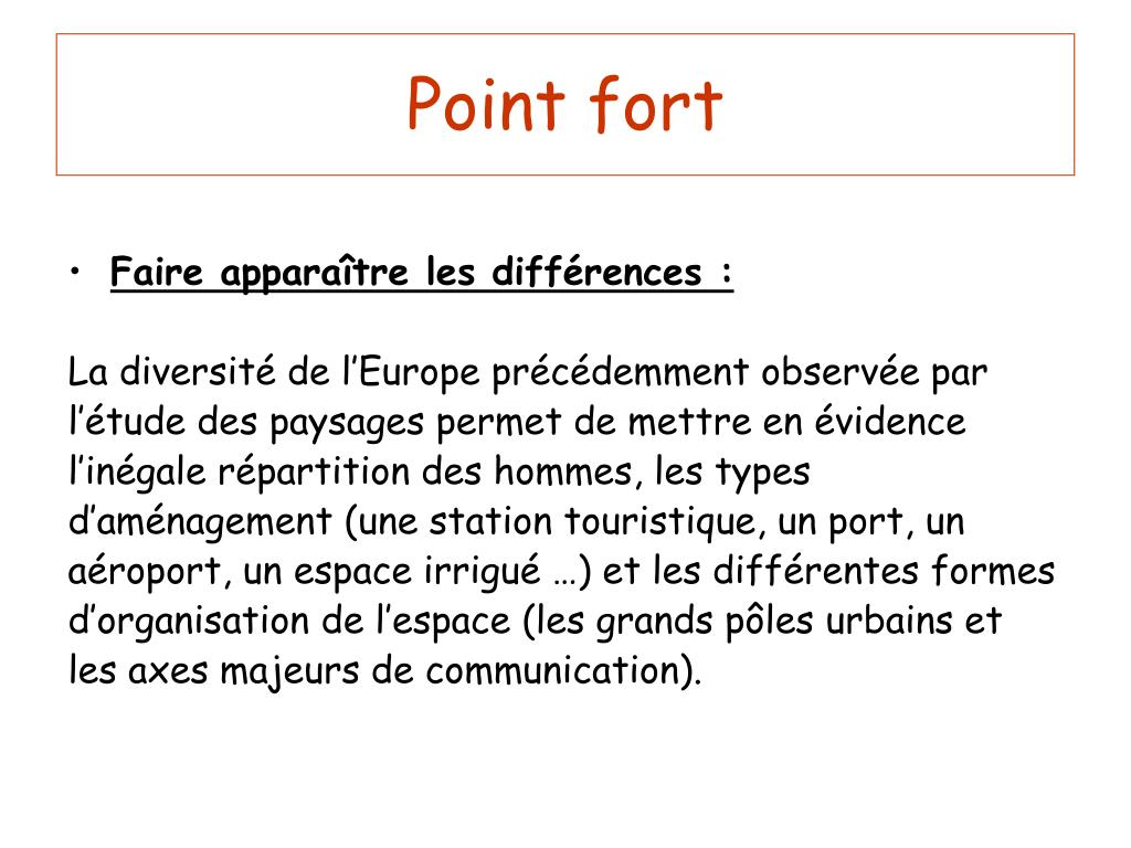 Point fort