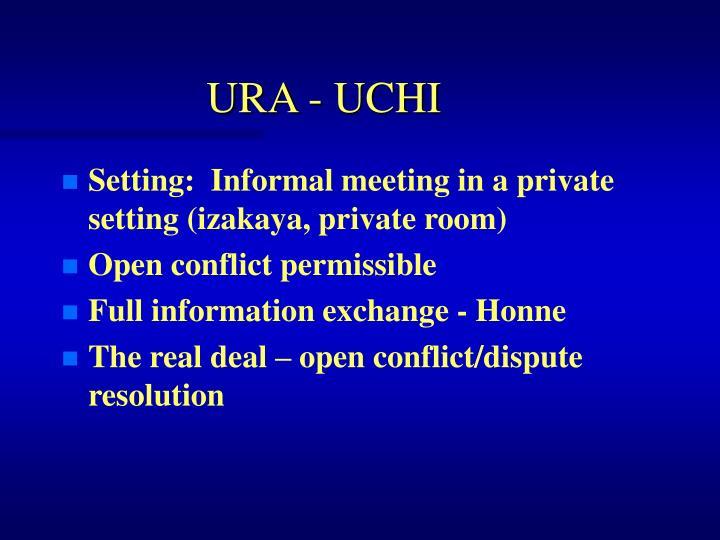 URA - UCHI