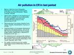 air pollution in cr in last period