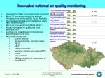 innovated national air quality monitoring