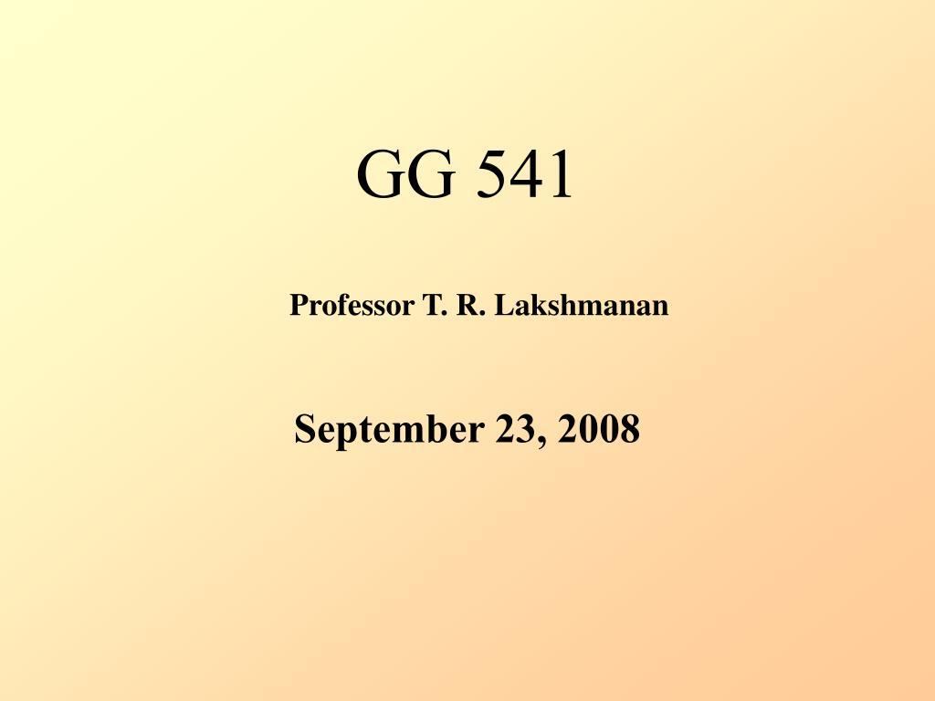 GG 541