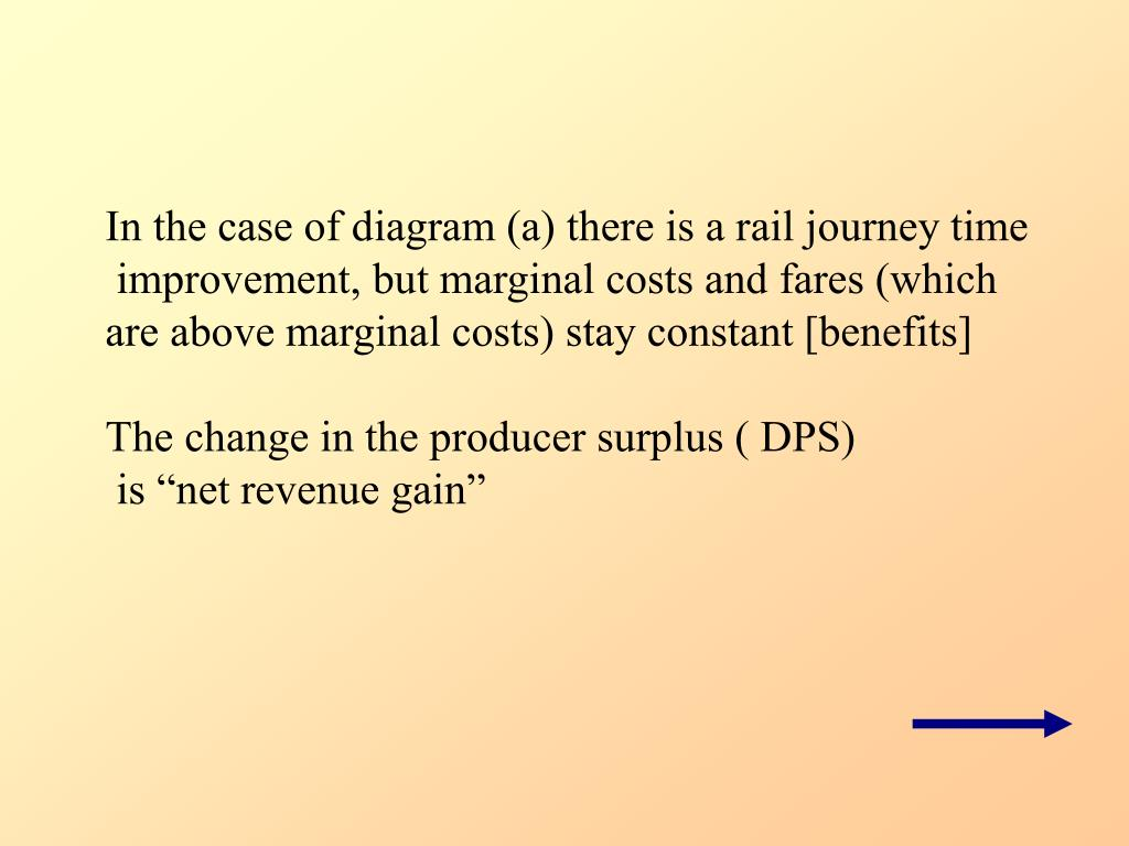 In the case of diagram (a) there is a rail journey time