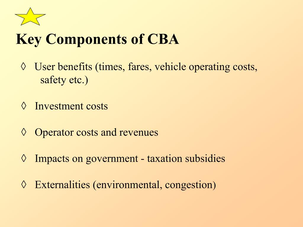 Key Components of CBA