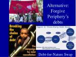 alternative forgive periphery s debts
