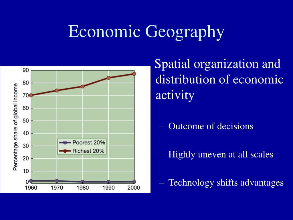 economic geography l.