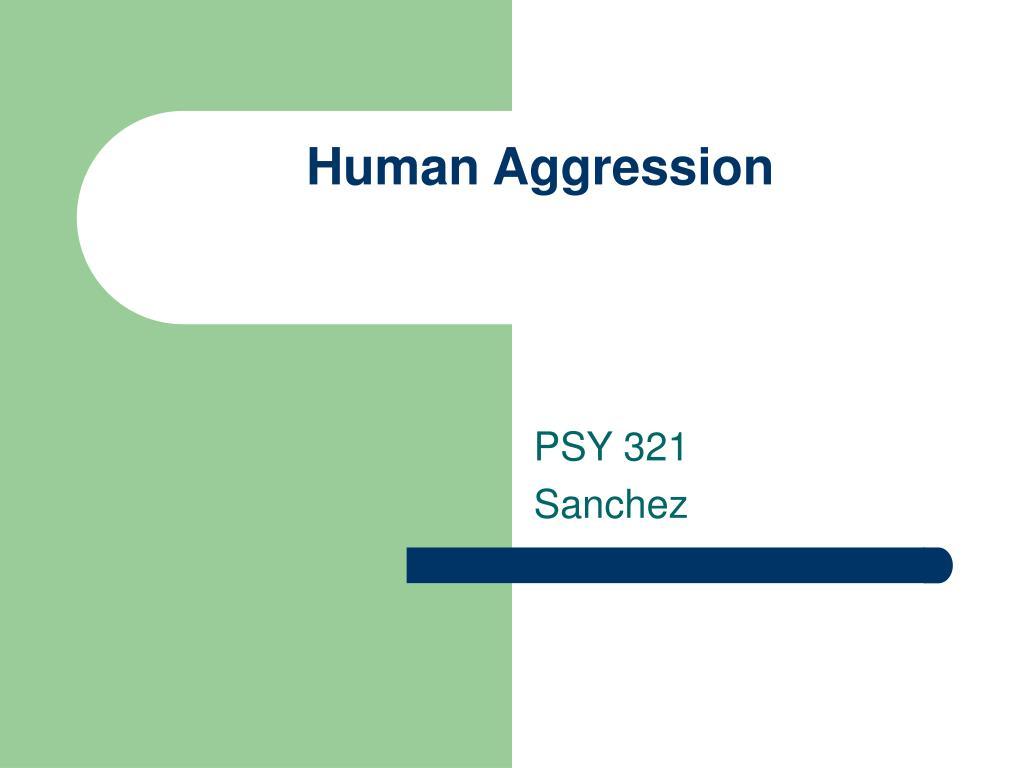 human aggression l.
