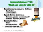 immunenhancer ag what can you do with it33