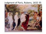 judgment of paris rubens 1632 35