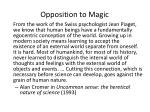 opposition to magic