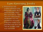 laws governing jewelry