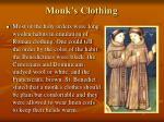 monk s clothing