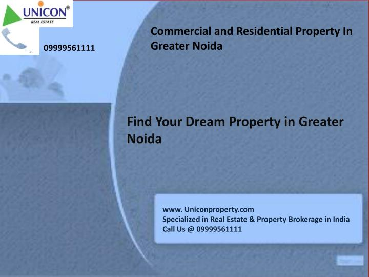 Commercial and Residential Property In