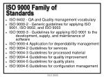 iso 9000 family of standards