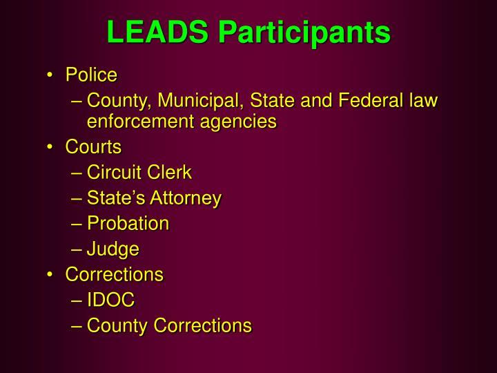 LEADS Participants