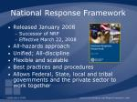 national response framework16