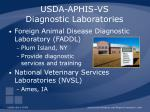 usda aphis vs diagnostic laboratories