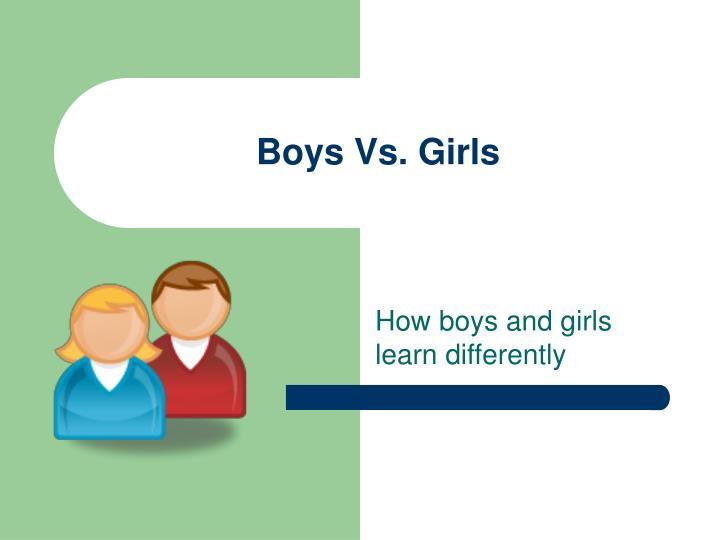 boys vs girls n.