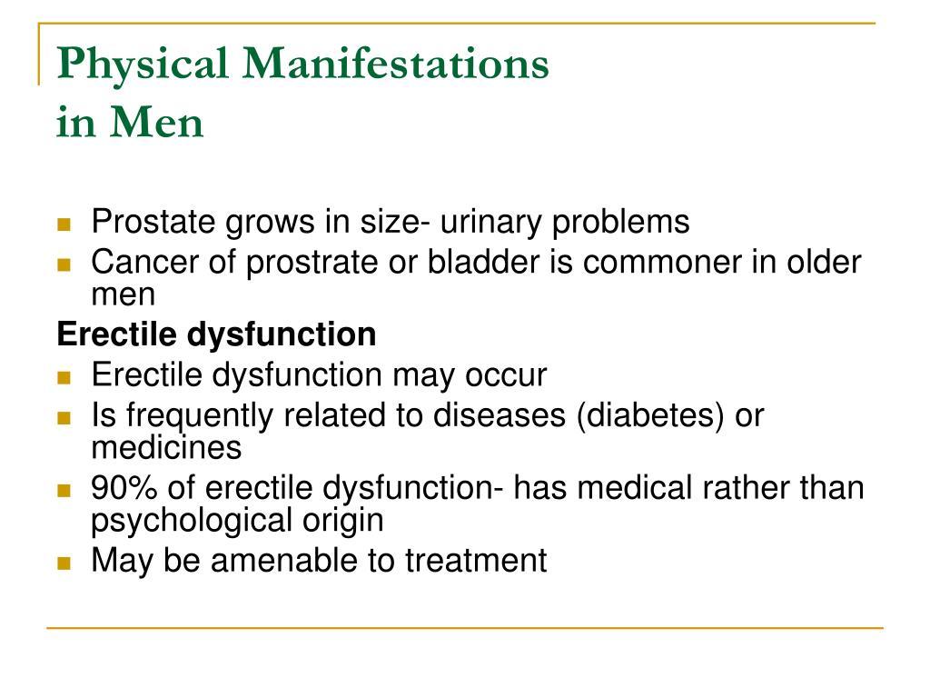 Physical Manifestations