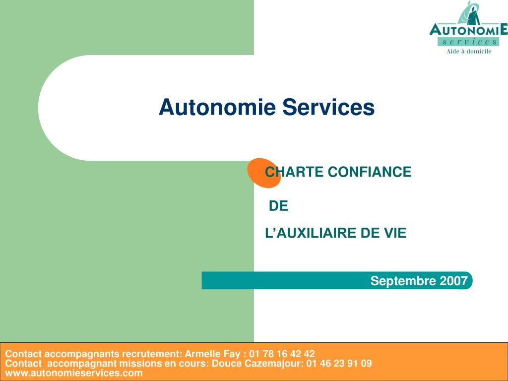 autonomie services l.