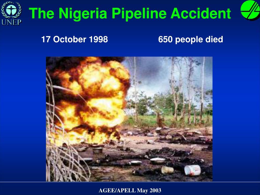 The Nigeria Pipeline Accident