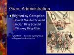 grant administration