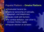 populist platform omaha platform