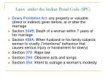 laws under the indian penal code ipc