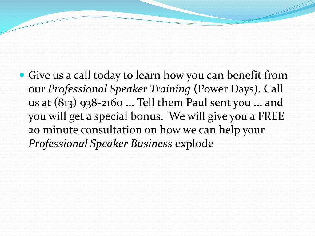 Give us a call today to learn how you can benefit from our