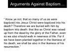 arguments against baptism10