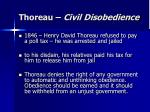thoreau civil disobedience