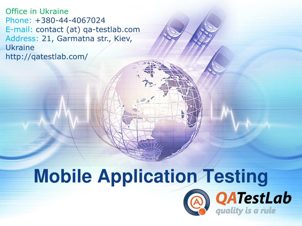 mobile application testing l.