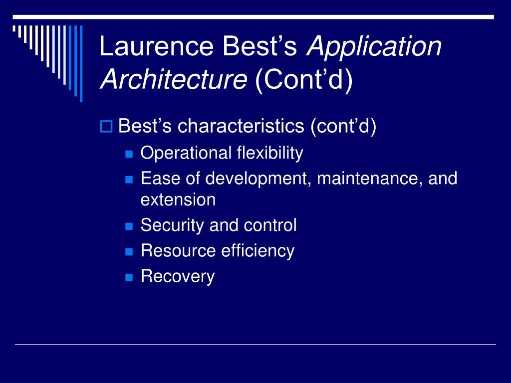 Laurence Best's