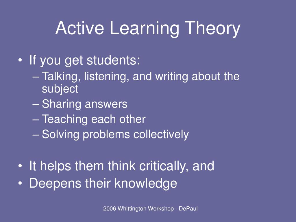 Active Learning Theory