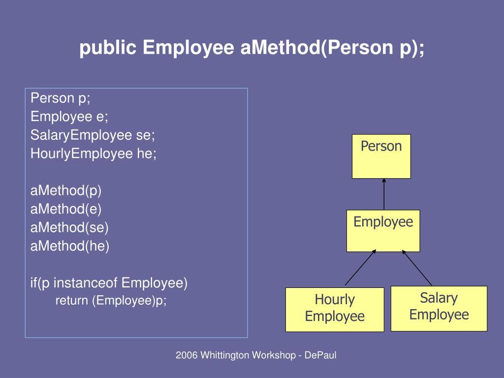 Person p;