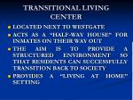 transitional living center